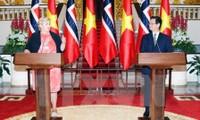Culmina exitosamente la visita de la primera ministra nórdica en Vietnam