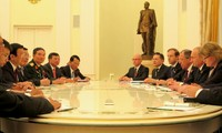 Acuerdan presidentes de Vietnam y Rusia fortalecer la asociación