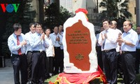 Colocan lápida conmemorativa de visita de Ho Chi Minh a Voz de Vietnam