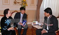 Dirigente vietnamita estimula a empresas bolivianas aumentar cooperación comercial e inversionista