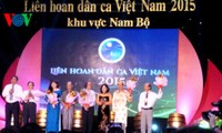 Nuevos alientos del VI Festival del arte popular de Vietnam en el sur