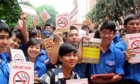 Sector educativo de Vietnam en respuesta al Día Mundial Sin Tabaco