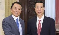 Impulsan Japón y China relaciones bilaterales