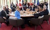 Primera jornada de trabajo de la Cumbre del G7