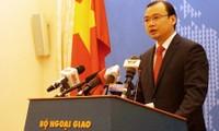 Denuncia Vietnam inútil declaración de China sobre construcción de islas artificiales