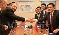 Vietnam e Israel por aumentar intercambio comercial