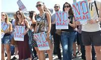 """Dicen griegos """"no"""" a plan de austeridad"""