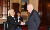 Prosigue el líder político de Vietnam su visita oficial en Estados Unidos