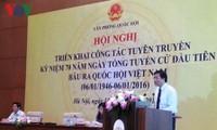 Promueven programa en saludo a 70 años de las primeras elecciones generales