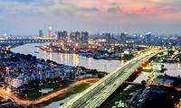 Ciudad Ho Chi Minh desde arriba