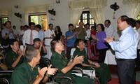 Gratitud a los mártires y atención a los soldados mutilados de Vietnam