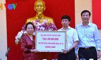 Vicepresidenta expresa solidaridad a víctimas afectadas por inundaciones en Quang Ninh