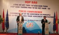 Fin de negociaciones sobre TLC Vietnam- Unión Europea: para nuevas perspectivas de cooperación