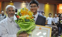 Vu Xuan Trung, joven de oro en matemática de Thái Binh