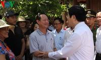 Urge el presidente vietnamita a Nghe An a reorganizar la producción