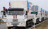 Llega a Ucrania el trigésimo sexto convoy con ayuda humanitaria de Rusia