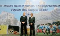 Conmemora Uruguay 190 años del Día de la Independencia Nacional en Vietnam