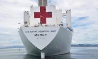 Concluyen en Da Nang tareas humanitarias del buque hospital de Estados Unidos