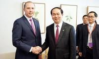 Ministro de Seguridad Pública vietnamita conversa con titulares de diferentes sectores de Australia