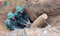 Mecanismo eficiente para superar consecuencias de explosivos en Quang Tri