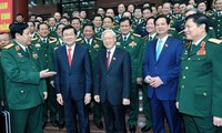 X Congreso Partidista del Ejército Popular de Vietnam destaca la modernización militar
