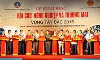 Abierta Feria de Agricultura y Comercio del Noroeste vietnamita