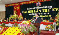 Premier vietnamita en Congreso partidista de la provincia de Quang Tri