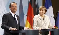 Crisis migratoria es desafío histórico para Europa, afirman líderes de Alemania y Francia