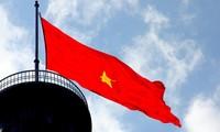 Torre de la bandera nacional de Lung Cu, símbolo de las 54 etnias vietnamitas