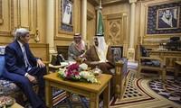 En Arabia Saudita secretario de Estado norteamericano para tratar sobre situación siria