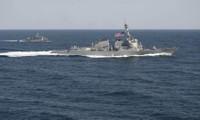 Buque de guerra de Estados Unidos llegará a Mar Oriental