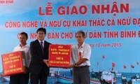 Japón ayuda a pescadores vietnamitas a mejorar la explotación del atún