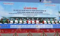 Inician construcción de nueva terminal del Aeropuerto Internacional de Da Nang