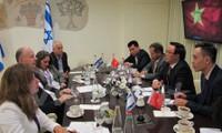Cooperación entre Partido Comunista de Vietnam y partidos políticos en Medio Oriente