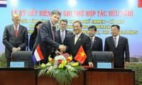 Localidades de Vietnam y Holanda fortalecen cooperación en logística