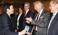 Inicia el presidente vietnamita sus actividades en visita oficial a Alemania