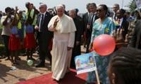 Papa Francisco pide paz en República Centroafricana