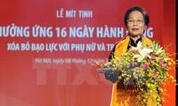 Vietnam refuerza divulgación sobre protección de mujeres y niñas