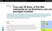 Medio argentino elogia logros de Vietnam a 30 años de aplicarse la Renovación