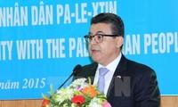 Celebran Día Internacional de Solidaridad con el pueblo palestino en Vietnam