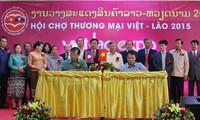 Inaugurada feria comercial Vietnam-Laos 2015