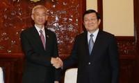 Destaca presidente vietnamita relaciones de asociación estratégica con Tailandia