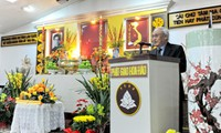 Se conmemora aniversario de natalicio del fundador de la secta budista de Hoa Hao