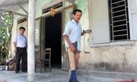 Fortalecen reintegración social de víctimas de bombas y minas de Vietnam