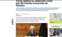 Opinión internacional aprecia el éxito del XII Congreso del Partido Comunista de Vietnam
