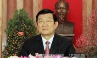 Mensaje de Año Nuevo del Presidente vietnamita