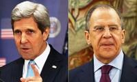 Cancilleres rusos y estadounidenses sostienen conversación telefónica sobre Siria