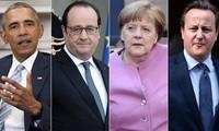 Líderes occidentales instan a parar bombardeos a civiles en Siria