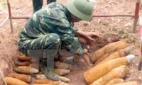 Mejoran capacidad de desactivación de bombas y minas de Quang Binh