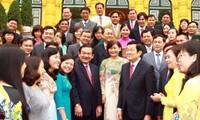 Presidente de Vietnam orienta el desarrollo rural del distrito de Cu Chi